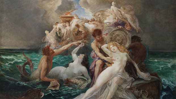 the-nereid-thetis-in-greek-mythology