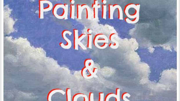 10 tips on how to paint skies and clouds.