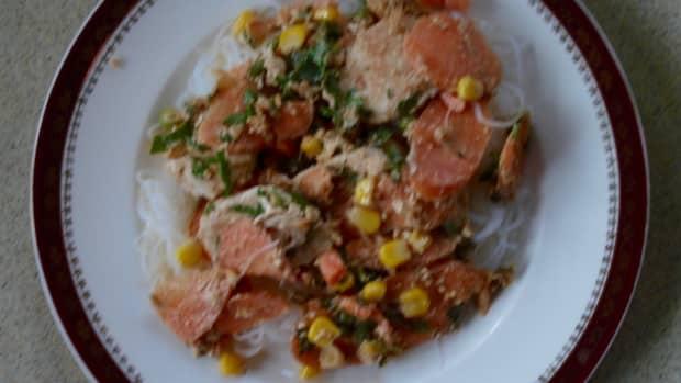 nutty-chicken-noodle-hot-salad
