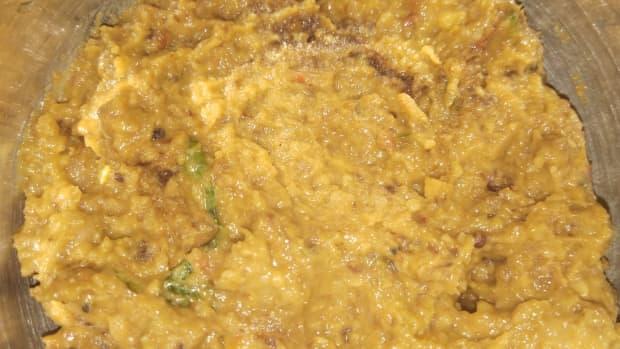 capsicum-and-tomato-chutney-dip-recipe