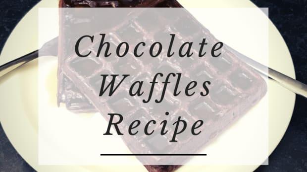 easy-chocolate-waffles-recipe
