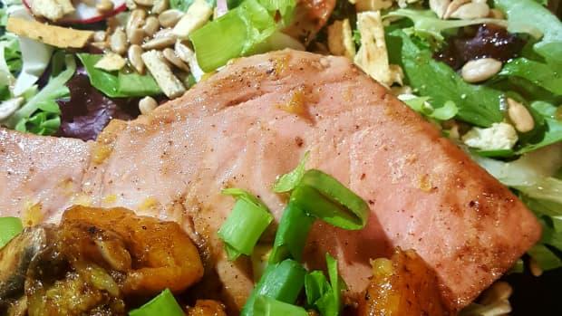 sesame-orange-yellowfish-tuna-salad