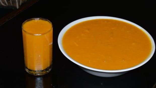 healthy-beverages-mango-rasayana-or-mango-smoothie-with-coconut-milk
