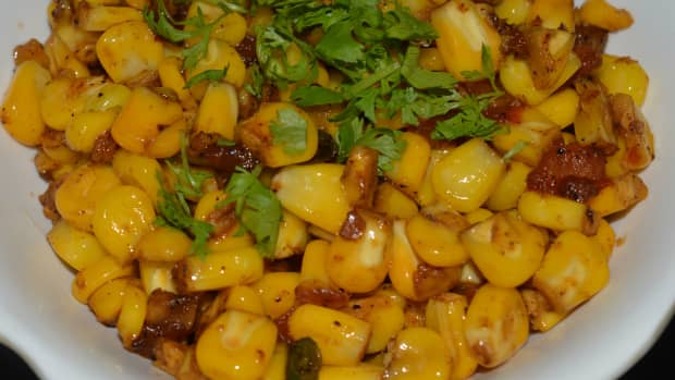sweet-corn-stir-fry-with-ginger-garlic-and-tomatoes