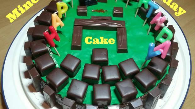 how-to-make-minecraft-birthday-cake