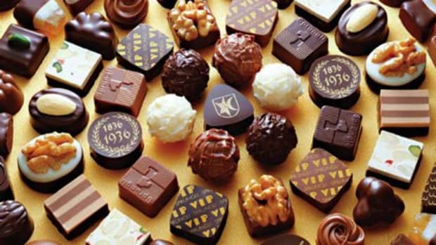A collection of Lindt Truffles.