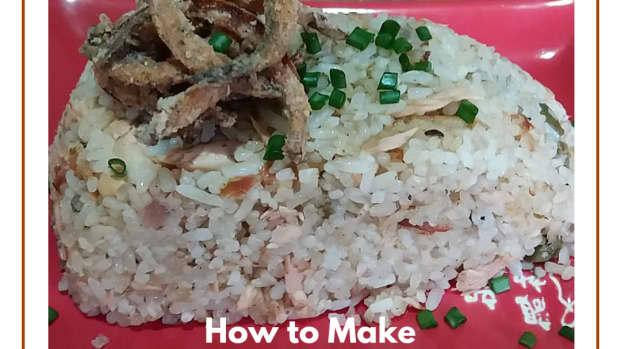 how-to-make-tuna-lemon-capers-fried-rice