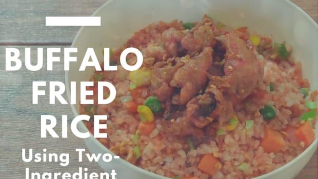 how-to-make-buffalo-fried-rice-using-two-ingredient-buffalo-sauce