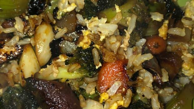 glazed-vegetable-fried-rice
