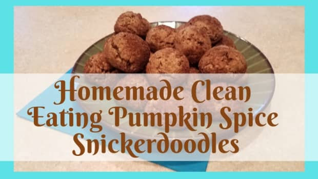 homemade-clean-eating-pumpkin-spice-snickerdoodles
