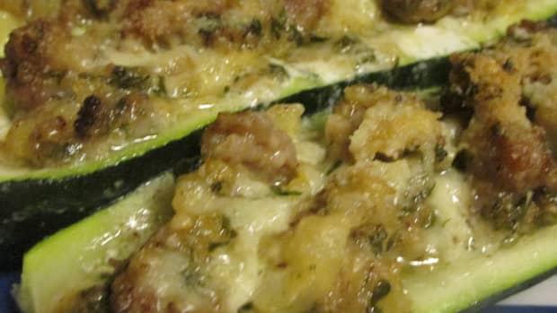sausage-stuffed-zucchini