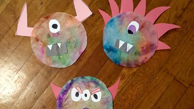 tie-dye-coffee-filter-monster-halloween-craft