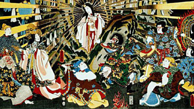 a-retelling-of-shinto-myths-2-the-sun-goddess-hides-herself-in-a-cave