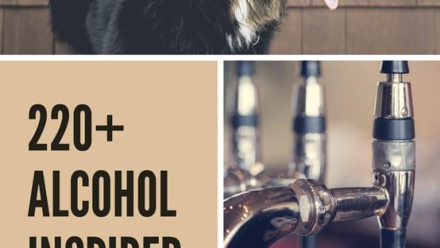alcohol-dog-names