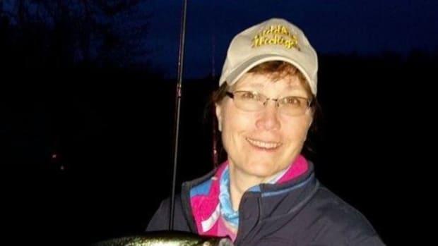 Author with Black Crappie Fish