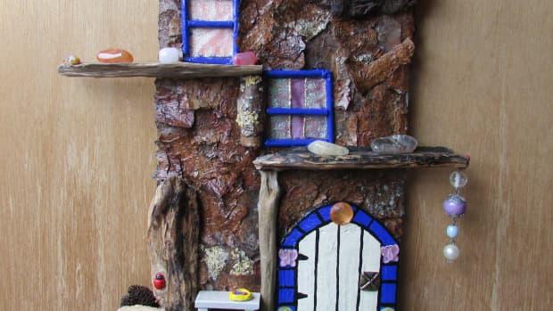 how-to-make-a-fairy-tree-house-fairy-door-window-doors-windows-gardens