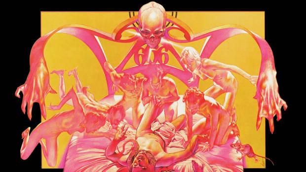 Sabbath Bloody Sabbath (1973). Artwork by  Drew Struzan. Copyright of Vertigo Records. HQ version provided by fanart.tv.