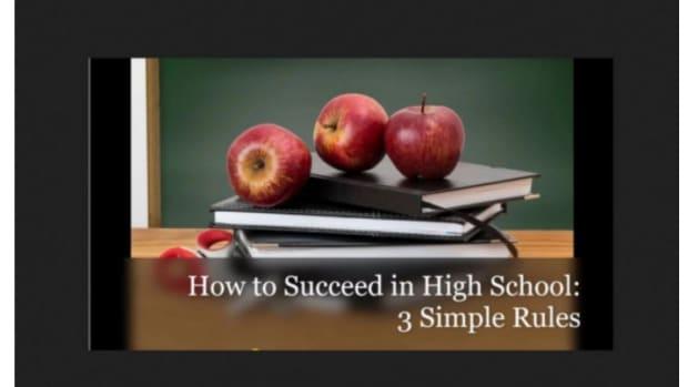 如何在高中取得成功三条简单规则