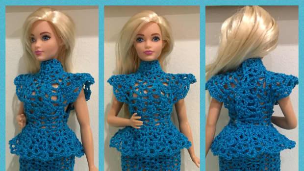 curvy-barbie-peplum-top-and-skirt-free-crochet-pattern