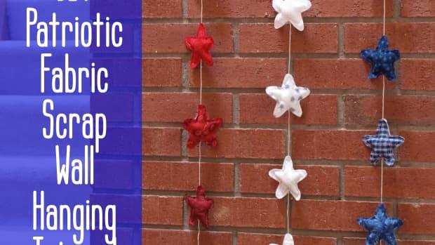 diy-scrap-fabric-craft-rustic-patriotic-star-wall-hanging