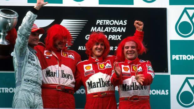 2000年马来西亚大奖赛迈克尔·舒马赫职业生涯第44场胜利