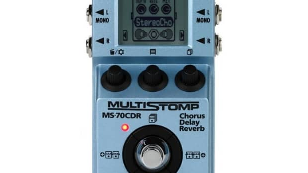 review-of-the-zoom-ms-70cdr-multistomp-chorus-delay-reverb-pedal