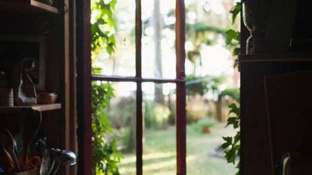 through-the-open-kitchen-window