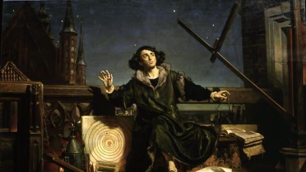尼古拉斯·哥白尼将太阳置于太阳系中心的天文学家