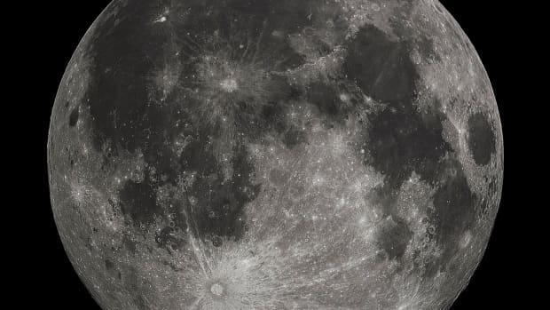 月亮是从哪里来的