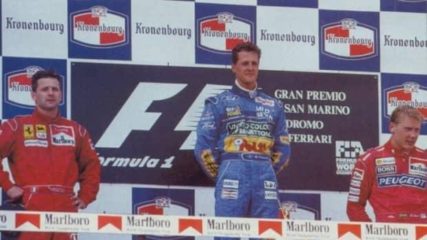 the-1994-san-marino-gp-michael-schumachers-5th-win-and-sennas-loss-forever