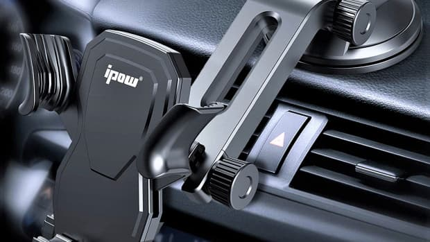 ipow-car-phone-mount-review-most-affordable-handsfree-gravity-smartphone-holder