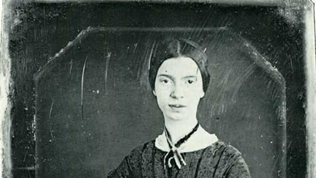 艾米莉·狄金森——这张达盖尔银版照片可能是这位诗人唯一现存的真实形象。