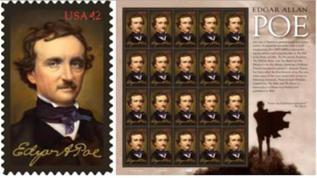 埃德加·爱伦·坡纪念邮票