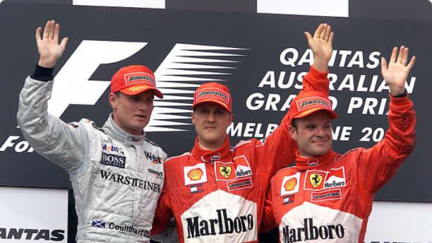 澳大利亚- 2000 - gp -迈克尔-舒马赫- 45 -职业-赢