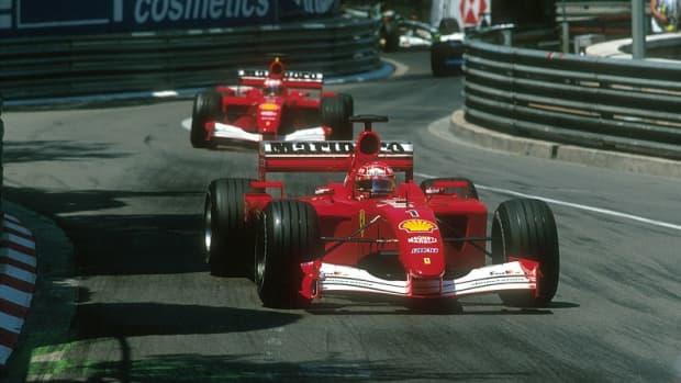 - 2001 -摩纳哥- gp -迈克尔-舒马赫- 48 -职业-赢