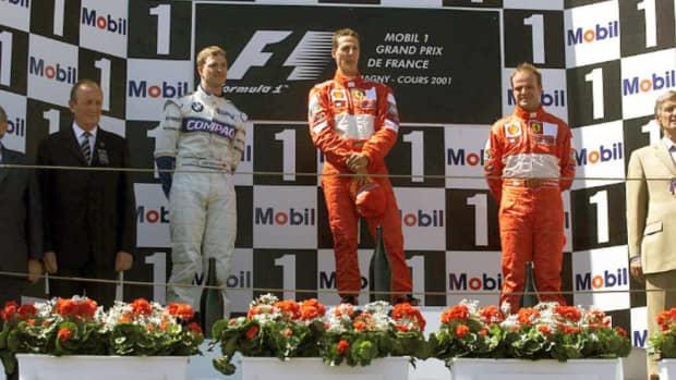 2001年法国gp迈克尔舒马赫职业生涯第50场胜利