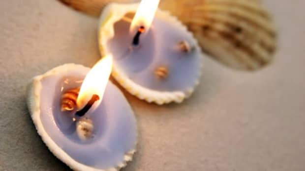 how-to-make-your-own-seashell-votive-candle-seashell-crafts