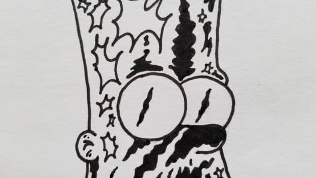 how-to-draw-bootleg-bart-simpson-quick-and-easy