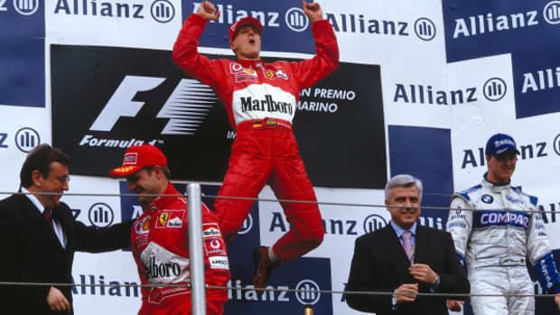 2002年圣马力诺大奖赛迈克尔·舒马赫职业生涯第56场胜利