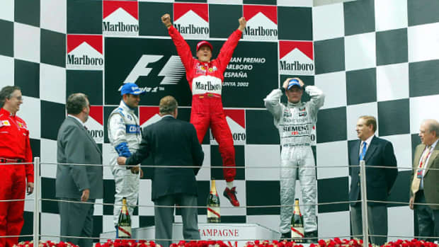 2002年西班牙gp迈克尔舒马赫职业生涯第57次胜利