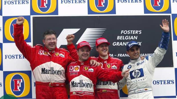 - 2002 -比利时- gp -迈克尔-舒马赫- 63 -职业-赢