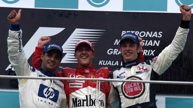 2004年马来西亚大奖赛迈克尔·舒马赫第72次职业生涯胜利