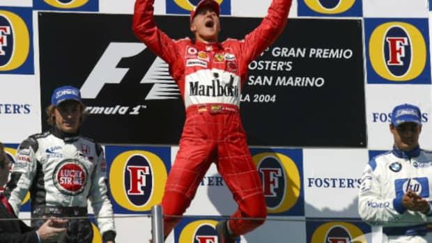 2004年圣马力诺大奖赛迈克尔·舒马赫职业生涯第74场胜利
