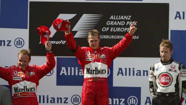2004年欧洲大奖赛迈克尔·舒马赫职业生涯第76场胜利