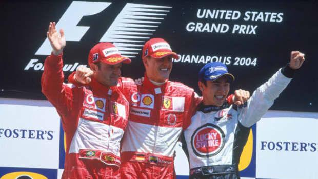 2004年美国大奖赛迈克尔·舒马赫职业生涯第78场胜利