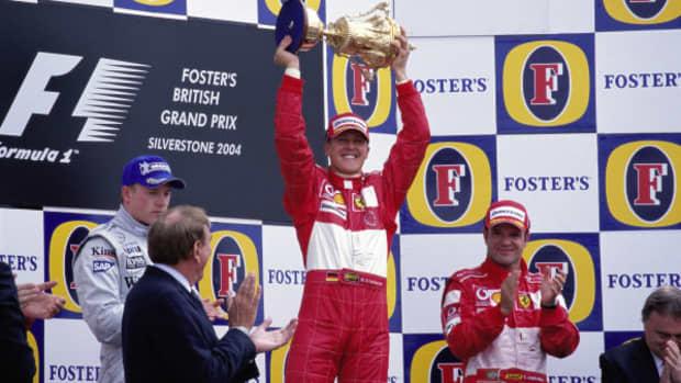 2004年英国大奖赛迈克尔·舒马赫职业生涯第80场胜利