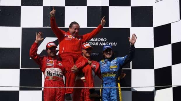 - 2004匈牙利- gp -迈克尔-舒马赫- 82 -职业-赢