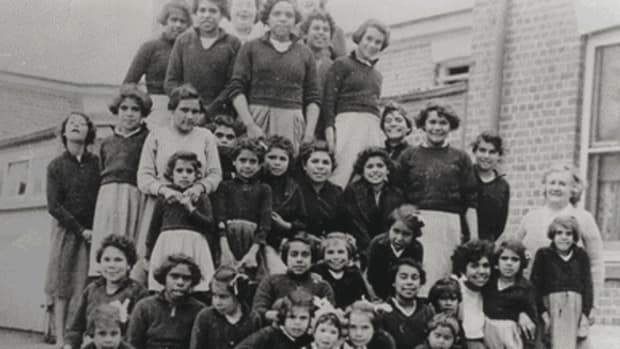 Aboriginal Children Were Forcibly Removed From Their Homes By Government Statute