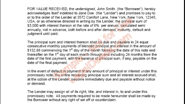 promissory-note-for-personal-loans