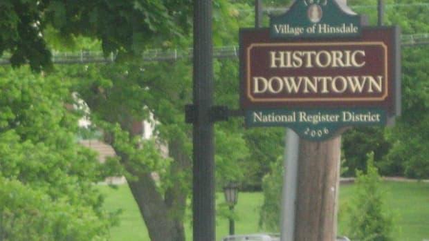 Historic Downtown Hinsdale, Illinois